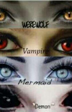 Vampires and Werewolves (Reddie Au!) by CharaRoseDremurr