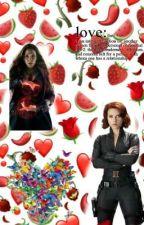 Scarletwidow one-shots (scarlet witch x black widow) by margron_the_elf