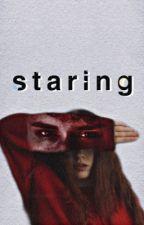 STARING | shirbert by blythexcarrots