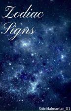Zodiac signs  by Depressed_01