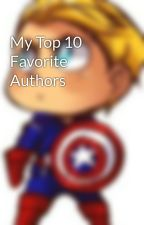 My Top 10 Favorite Authors by tsonggg