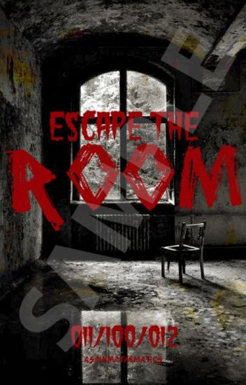 Escape The Room (a reader insert mystery story)