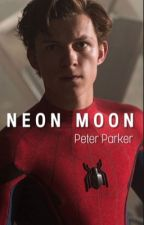 Neon Moon | Peter Parker by lostindobrik