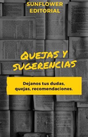 Quejas y Sugerencias SE by SunFlower_Editorial
