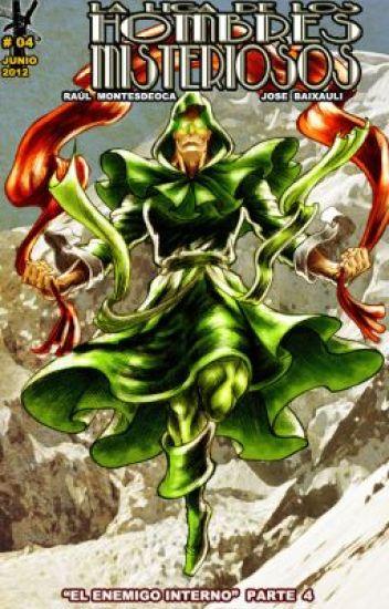 ACTION TALES:La Liga de Los Hombres Misteriosos#4