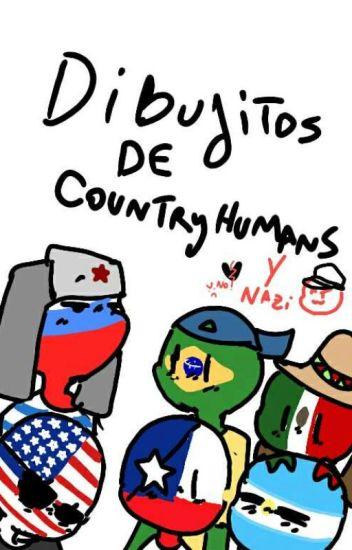 Dibujos de... Countryhumans!