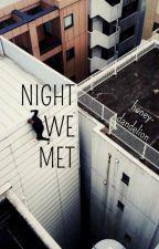 night we met + parkner/spiderlad by -Ioverboy-