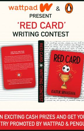 Red Card Writing Contest - Wattpad