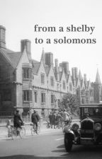 from a shelby to a solomons by luukes