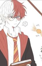TodoBakuDeku Hogwarts au by Toya_in_my_pants