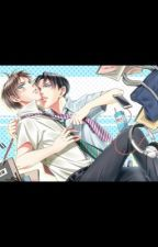 Eren and levi- highschool crush to my life partner by Ereri-love