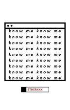 know me ; luqi by ETHERXXX