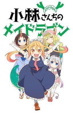Little drunk dragon ( miss kobayashi's dragon maid x child reader