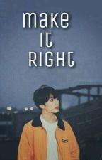 ~Make it right ~ J.J.K by Yneth_Fs