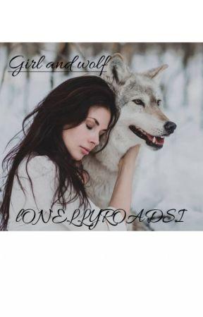 Девушка и волк by Lonellyroadsi