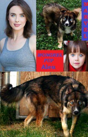 Mongrel Pup Aleu: Marvel by BiancaEvans2