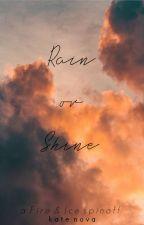 Rain or Shine  | Soulmate AU | by callistanova