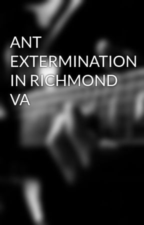 ANT EXTERMINATION IN RICHMOND VA by pestcontrol07
