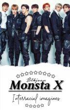 Monsta X Interracial Imagines. by blkjoon