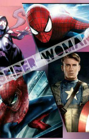 Spiderwoman La Hija De Capitán América Peter Parkertom Holland Y