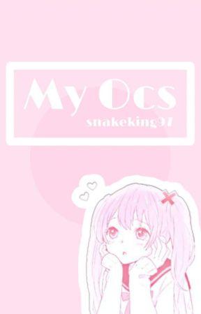   💁 My OC Book 💁♂️ by snakeking97