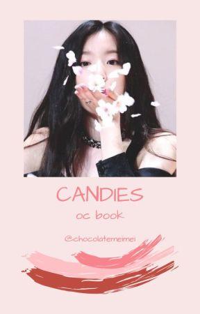 candies ➶ oc book by chocolatemeimei