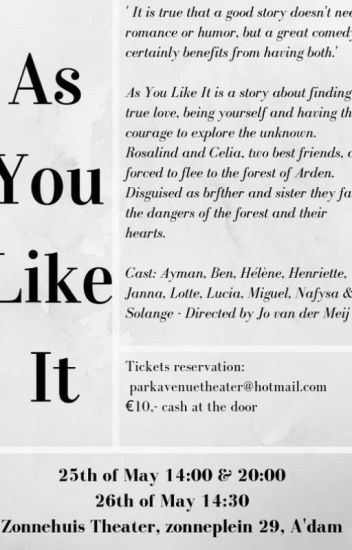 As You Like It poems