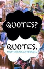 TFIOS Quotes by offwhitepinstripes