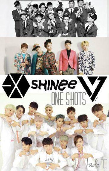 SHINee, EXO & SEVENTEEN One Shots {Closed}