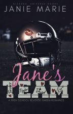 Jane's Team: A Bizarro Gods & Monsters Novella(Reverse Harem) by janie1617