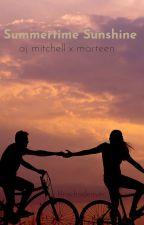 Summertime Sunshine// aj mitchell x marteen by lilrachaco