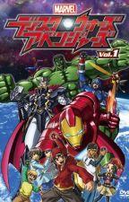 Marvel Disk Wars- The Avengers: The Star Princess: Loki x oc x Deadpool by user14992466