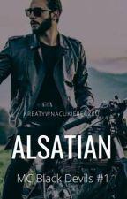 Alsatian | MC Black Devils #1 by kreatywnacukiereczku