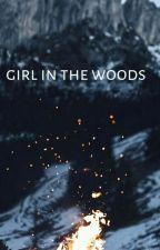 the girl in woods by SamahaIjaz