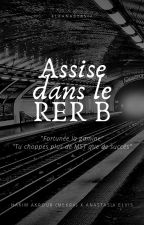 Assise dans le RER B by eleanastasia