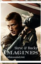 Imagines : STEVE & BUCKY by villainousladyloki