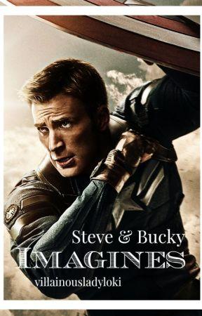 Imagines : STEVE & BUCKY - Imagine Steve thinking you're
