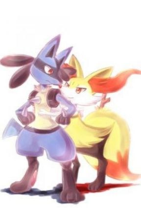 Braixen and Lucario: Highschool love ( continuation  of @takingover27's book) by Lucariolover1000