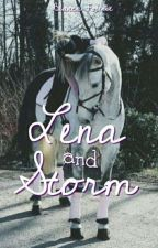 Lena and Storm by Bhorses777