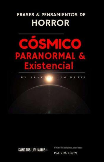 Frases y Pensamientos de Horror Cósmico y Paranormal