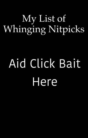 My list of whinging nitpicks  by Thepeguwone