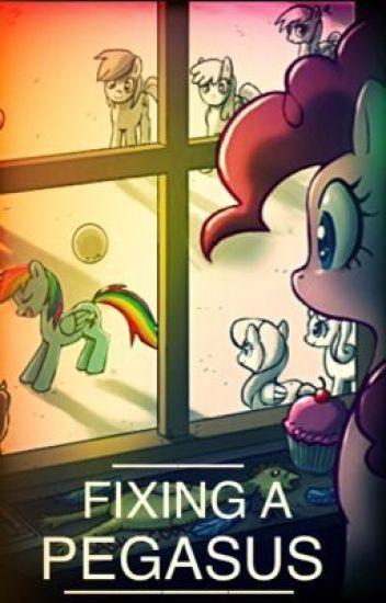 Fixing A Pegasus {A MLP Pinkiedash Fanfic}