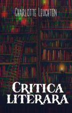 Critică literară - PAUZĂ by CharlotteLeuchten