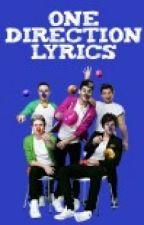 One Direction Lyrics by LaSnitchDorada