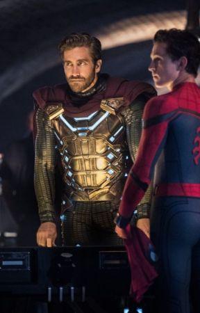 Tossing Coins [Mysterio x Spider-man] by Nebelasche
