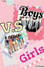 Girls V.S Boys (GOT7 Fanfic)[Slow Update] by Unique_Plain