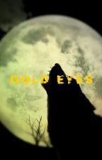 Gold eyes by xX-Redd-Xx