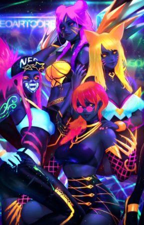 Yandere!Demons!K/DA X Fem!Demon!Reader by Nighttra