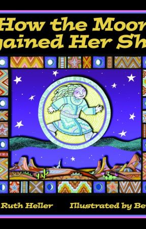 Book Review of How the Moon Regained Her Shape by JanetRuthHeller