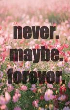 Never. Maybe. Forever. by souryogurt